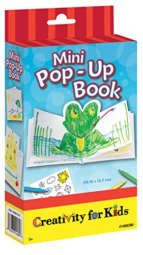 Creativity for Kids Mini Pop Up Book Craft Kit - Make Your Own Hardcover Mini -