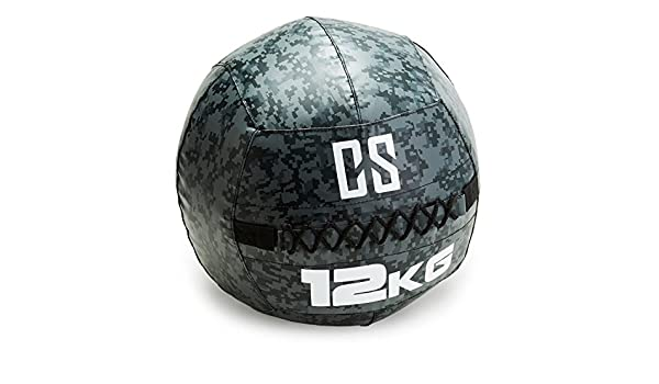 Capital Sports Restricamo Balón Medicinal PVC 12 Kg (Entrenamiento ...