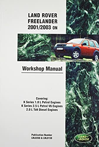 land rover freelander lr2 official workshop manual 2001 2002 rh amazon com Resource Land Rover Land Rover Disovery Manual