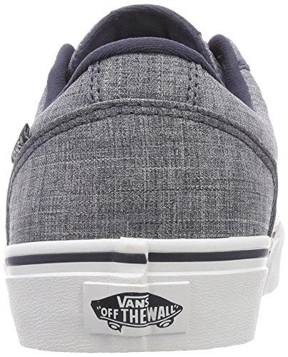 Chapman Uomo Stripe Blu Rock Sneaker Vans Textile vqSw4Bw