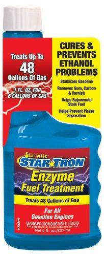 Star brite Star Tron Enzyme Fuel Treatment Gas Additive (8 oz) - Start Fuel Stabilizer