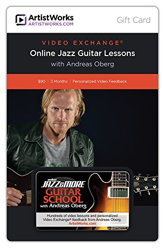 ArtistWorks Gift Card - Online Jazz & More Guitar School with Andreas Oberg