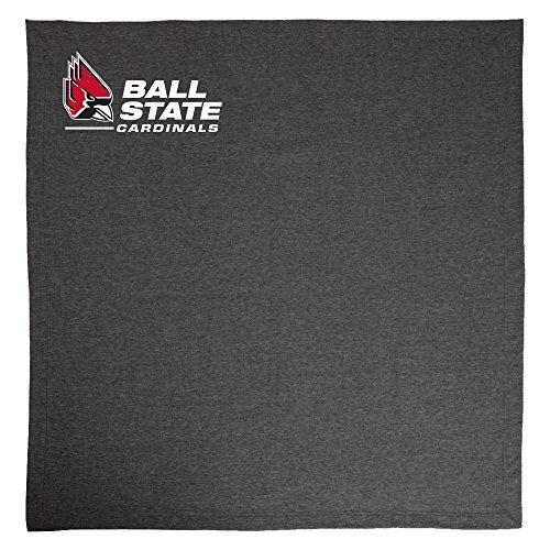 NCAA Ball State Cardinals Adult Sweatshirt Blanket,50