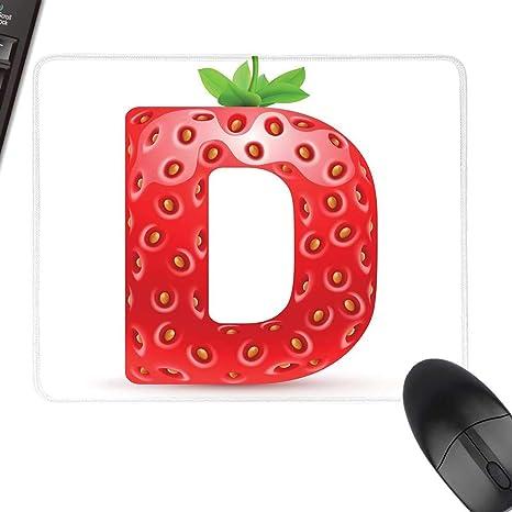 Amazon Com Letter D Extra Large Mouse Pad Capital D Letter