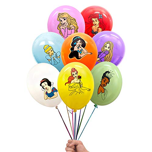 Disney Princess 24 Count Party Balloon Pack - Large 12