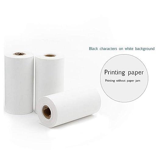 Rollos de Papel Térmico para Impresoras Fotográficas Portátiles, 3 ...