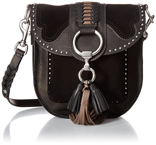Crossbody Multi Bag Ilana Black FRYE Saddle Western gw6Ztaqp