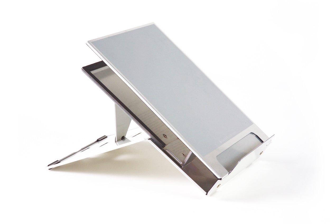 BakkerElkhuizen BNEQ260 Ergo-Q 260 mobiler Halter mit integrierter Dokumentenhalter für Laptop bis 39,6 cm (15,6 Zoll)
