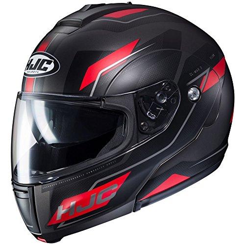 (HJC Flow Men's CL-MAX 3 Modular Street Motorcycle Helmet - MC-1SF / 2X-Large )