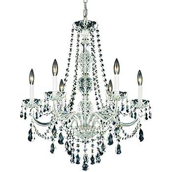 schonbek 130340h swarovski lighting arlington chandelier silver - Schonbek Chandelier