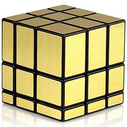 Premsons 3x3x3 Speed Gold Mirror Magic Cube - Fast & Smooth / No Stuck/ Stickerless