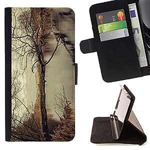 Momo Phone Case / Flip Funda de Cuero Case Cover - Árbol del otoño;;;;;;;; - Samsung Galaxy S3 III I9300