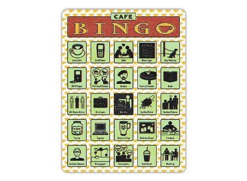 Knock Knock Cafe Bingo Game