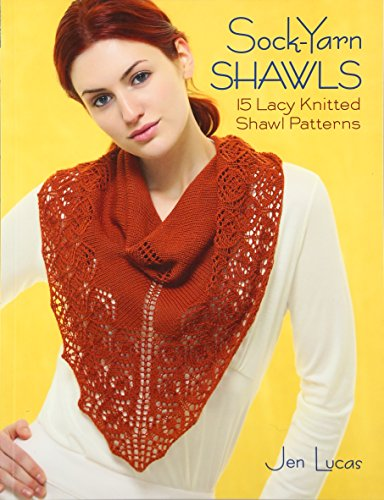 Lace Markers - Sock-Yarn Shawls: 15 Lacy Knitted Shawl Patterns
