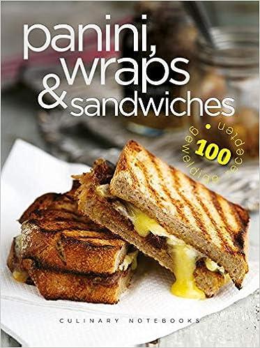 Culinary Notebooks Paninis, wraps & sandwiches: Amazon.es: Libros en idiomas extranjeros
