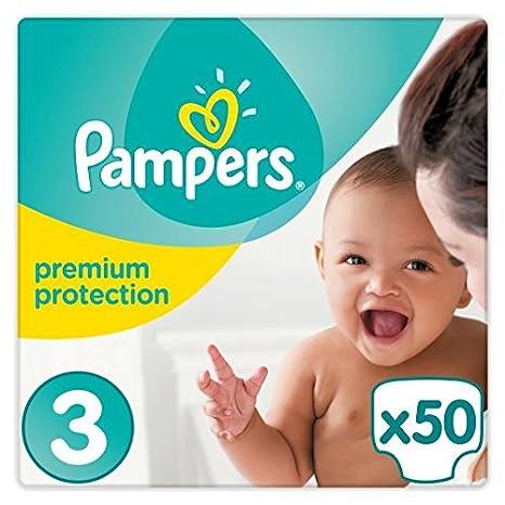 Pampers New Baby Tamaño 3 esenciales – 50 Pañales