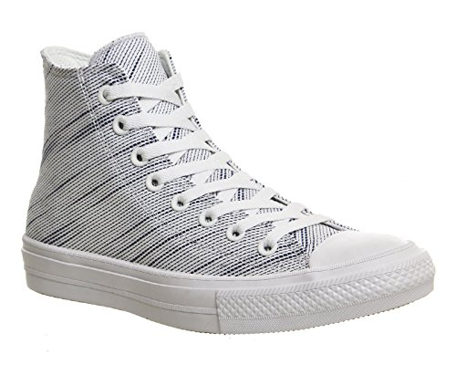 Converse Scarpe Da Ginnastica Unisex-adulti Chuck Taylor All Star Ii C150148 High-top Bianco