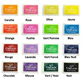 Encreur Encre Grand Format - XXL Tampon Flashy Multicolore Neuf - ROUGE