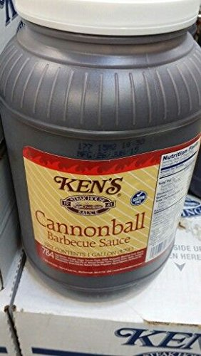 Ken's Cannonball Barbecue Sauce 1 Gal (2 Pack)