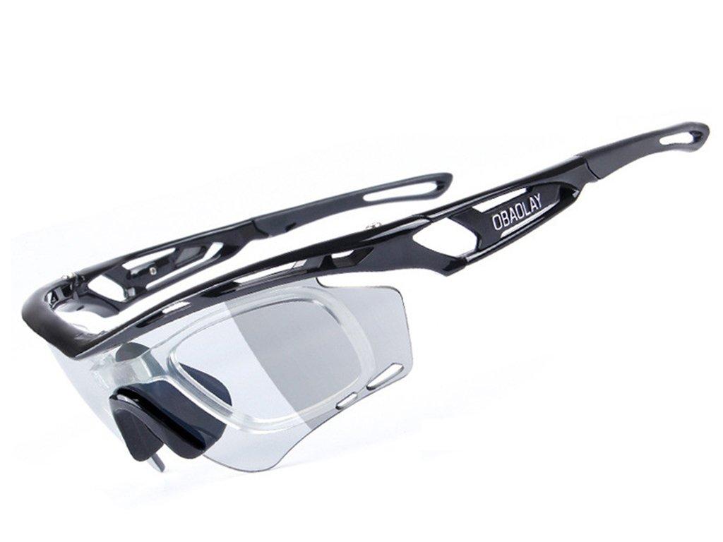 Aili Polarisierte Sonnenbrille Komfort-Schutzbrille Für Leichte Schutz Gegen Splitter, Antikratz- und Durchsichtigen Linsen