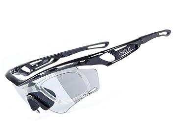 Gafas De Sol Deportivas, Gafas De Sol Deportivas Polarizadas con Proteccion UV400 & Marco TR90