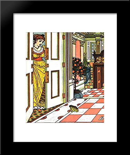 The Frog Prince and other stories 20x24 Framed Art Print by Walter - Walter Frog Crane