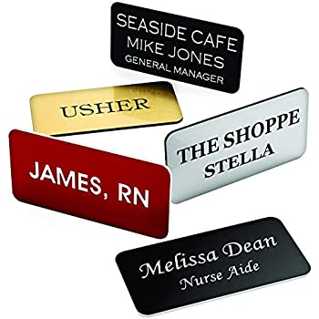 graphic about Future Missionary Tag Printable identify : Tailor made Engraved Status Tag Badges - Custom made