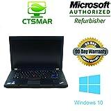 "Lenovo ThinkPad T520: Core i7 2.8 GHz / 4 Gb / 320 Gb / Webcam / WIFI / DVDRW / 15.6"" / Windows 10 Home Premium"