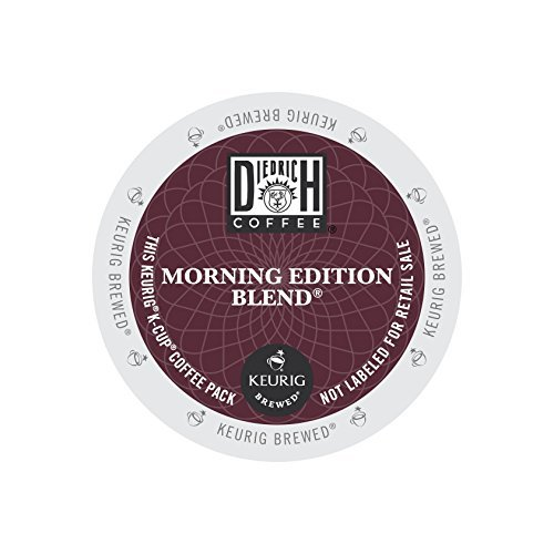 Diedrich Coffee K-Cup for Keurig Brewers, Medium Roast, Morning Edition Blend (Pack of 96) by Diedrich Coffee