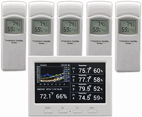 Ambient Weather WS 3000 X5 Thermo Hygrometer Controlled product image
