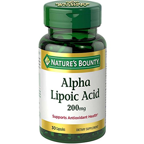 Nature's Bounty Alpha Lipoic Acid 200 mg Capsules 30 (Pack of 11) by Nature's Bounty