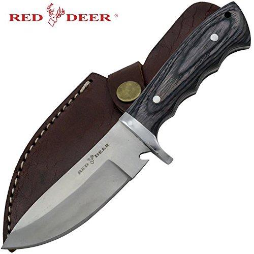 Red Deer Game Skinner Pakka Full Tang Hunting Knife Skinner Knife