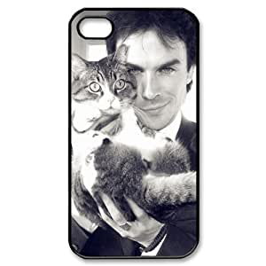 The Vampire Diaries Ian Somerhalder For iPhone 5 5s Plastic Case Cover New Design A02