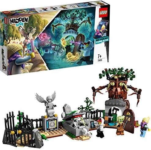 LEGO - Hidden Side Misterio del Cementerio Juguete de construcción con realidad aumentada, incluye lápidas interactivas y cuatro minifiguras, Novedad 2019 (70420): Amazon.es: Juguetes y juegos