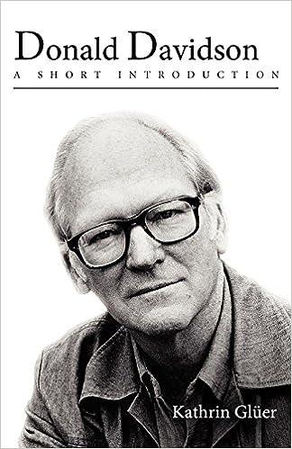 Donald Davidson belief