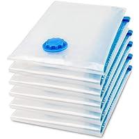 اكياس موفرة للمساحة ، بلاستيك - لون شفاف