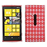 Asmyna NK920CASKCA036 Argyle Premium Slim and Durable Protective Cover for Nokia Lumia 920, 1-Pack, Retail Packaging, Clear