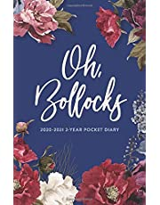 2020-2021 2-Year Pocket Diary; Oh, Bollocks: UK Month to View Pocket Planner (Agendas, Monthly Calendar Planners, and Personal Organisers)