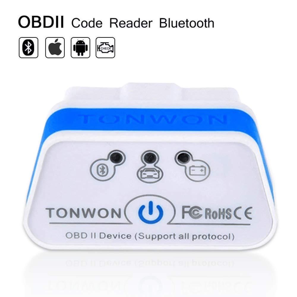 Strumento diagnostico per auto mini scanner automatico OBD2 interfaccia strumento diagnostico per auto OBD2 Bluetooth per Android iOS