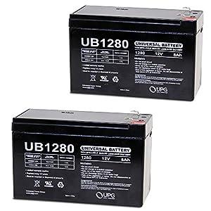 12V 8Ah Battery for Razor MX350 MX400 Electric Dirt Bike - 2 Pack