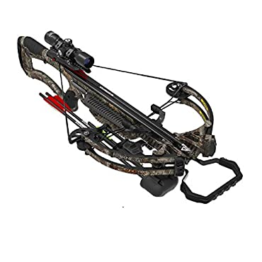 Barnett 78127 Raptor FX3 Pro Crossbow Package with 2 Bolts, Adult