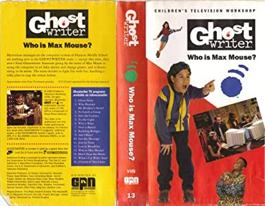 Ghostwriter who is max mouse ghostwriter buch finden