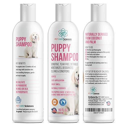 (PET CARE Sciences Puppy Shampoo 16floz)
