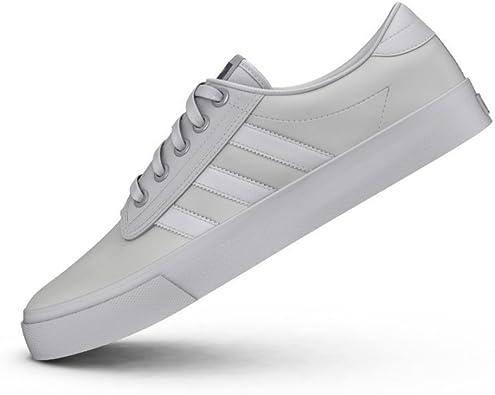 adidas Kiel - Zapatillas para Hombre, Color Blanco/Gris, Talla 47 1/3: Amazon.es: Zapatos y complementos