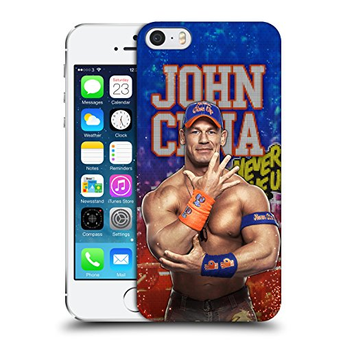 Official WWE LED Image 2017 John Cena Hard Back Case for Apple iPhone 5 iPhone 5s iPhone SE