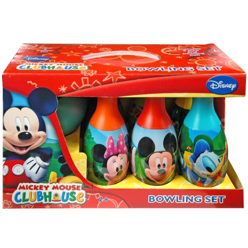 mickey clubhouse bowling set - 3