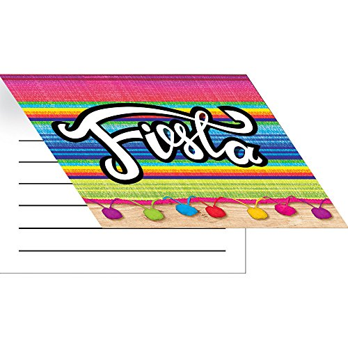 Creative Converting Party Invitations, Serape (8-Count) (Cinco De Mayo Birthday Invitations)