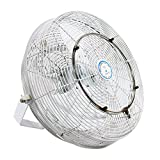High Velocity Outdoor Mist Fan - For Patio Cooling, Restaurant Misting, Industrial Cooling - Rated for Indoor and Outdoor Applications - 3 Speed Fan