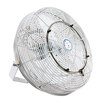 Amazon com: High Velocity Outdoor Mist Fan - For Patio