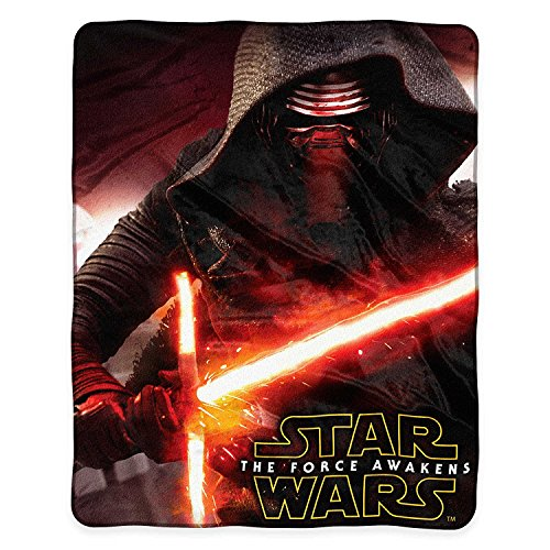 (Northwest Star Wars Episode VII: Force Awakens Aftermath Royal Plush Raschel Throw Blanket - Kylo Ren)